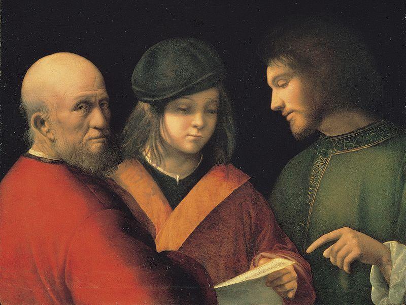 Giorgione_-_Three_Ages_of_Man_-_Palazzo_Pitti_result